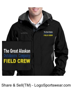 High Performance Field Crew Rain Jacket by Eddie Bauer® Design Zoom
