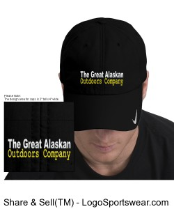 Great Alaskan Outdoors Company Shere Dry Cap by Nike Design Zoom